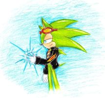 Scourge the hedgehog by F.L by Scourge157