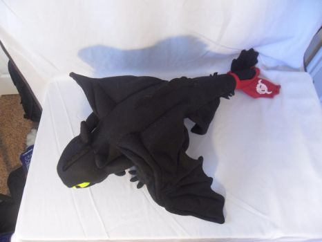Toothless Plushie 2 by Neo-Creations