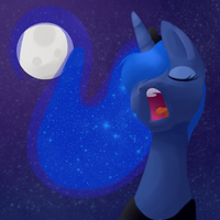 Sing me the song of the night by xClemintinex