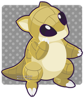 027 Sandshrew by Miss-Glitter