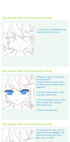 Clip Studio Paint Eye Tutorial by sonkeii