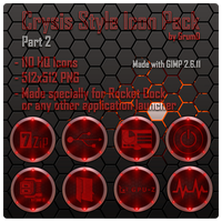 Crysis Style Icon Pack 2 by Grum-D