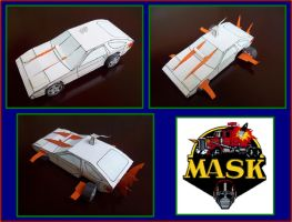 SHARK de M.A.S.K. hecho en cartulina by Paperman2010