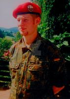 Millenium Soldier 2 me in the german armee in 2000 by Mikewildt