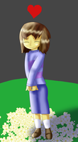 Frisk the Human by KendraTheShinyEevee
