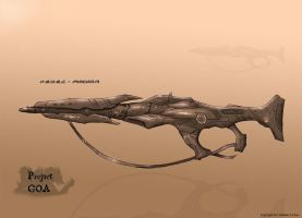 GOA ConceptWork -Guns01- by SkyerFox