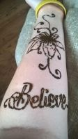Henna Lilly  and Believe by LCHK4dinks