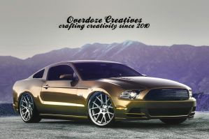 Ford Mustang GT 2013 by OverdozeCreatives
