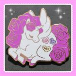 Valentines pony pin preorder by zambicandy