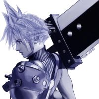 Cloud Strife- Dissidia by Maygen-Lucia