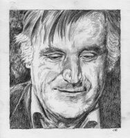 Ted Hughes by delph-ambi