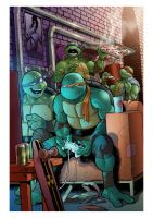 TMNT n.13 - Variant Cover by Claudia-SG