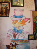 Dapper Cat::Better Quality:: by Floppy-Doggie