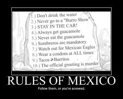 Rules of Mexico by htfman114