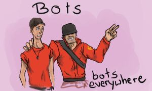 BOTS EVERYWHERE by forgether