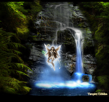 The Fairy Falls by Vampire-Echidna