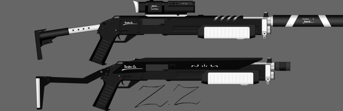 Darken Co. Zealot Shotgun by Zen-Zinxe