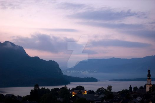 St. Gilgen Dawn by clush