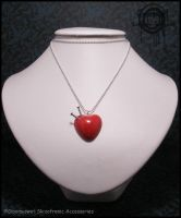 Voodoo Heart Necklace by Gloomyswirl