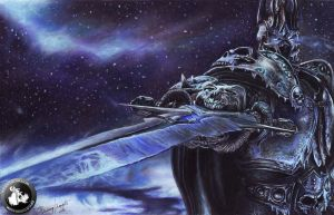 Lich King Arthas by KondaArt