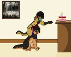 Happy Birthday Fag by AJ-Shep