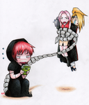 sasori GB color by absinthian-alchemist