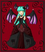 morrigan dress remake by ninpeachlover