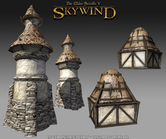 Skywind - TowerA and RoofA by StormAndy