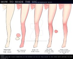 HOW TO SHADING THE LEGS by Sword-Waltz