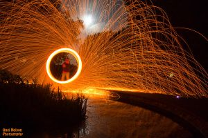 Wire wool reflections by AngiWallace