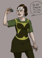 CardassianJess by gutter-child