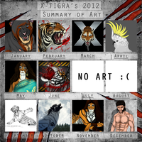 2012 Art Summary by X-TIGRA