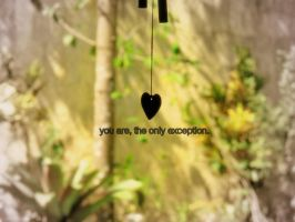 the only exception by driftingmelody16