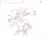 Gaige the Mechromancer [rough draft] by SamBiswas95