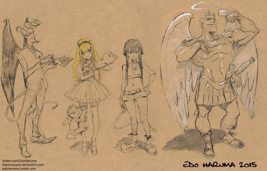 Diab Characters 2015 by titanomaquia
