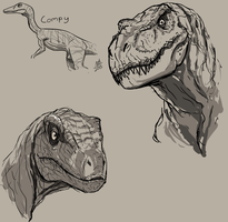 Dinosaaaaurs by ConstantM0tion