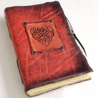 Leather Heart Journal by gildbookbinders