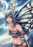 Aeval - Lunar Fairy by Uryen