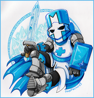 CC: Blue Knight by AzyoMecha
