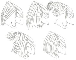 Yautja Hair Styles by DELTA122