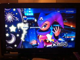 New PS3 Theme! Nights Into Dreams by Morgan-the-Rabbit