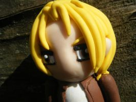 Bryce from Subsapien Polymer Clay Chibi (Close Up) by LadyElasa