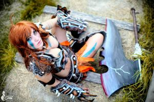 Barbarian~ by Justawaykitty