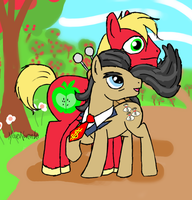 Meanwhile on Sweet Apple Acres... by MissesNovember