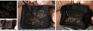 Phoenix Bag Design by Charlene-Art