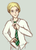 HBP Day 10 Draco by Rose-Rayne