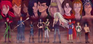 YYH: Protectors of Earth by Enjoumou
