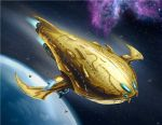 Flagship - by David Enciso by ravenwood0713