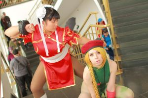 Anime Boston 2014 - Worlds' Strongest Women(PS) 17 by VideoGameStupid
