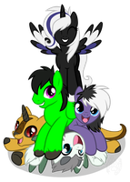 Pony pile! by Willow141